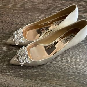Badgley Mischka Bridal Low Heels